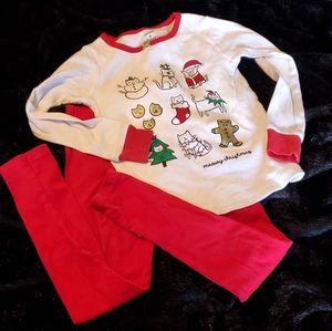 Carter's Girl's Christmas Pajama Set